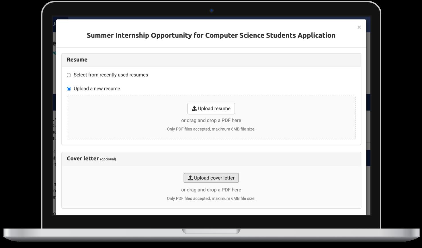 2-Uploading Resume 2_laptop