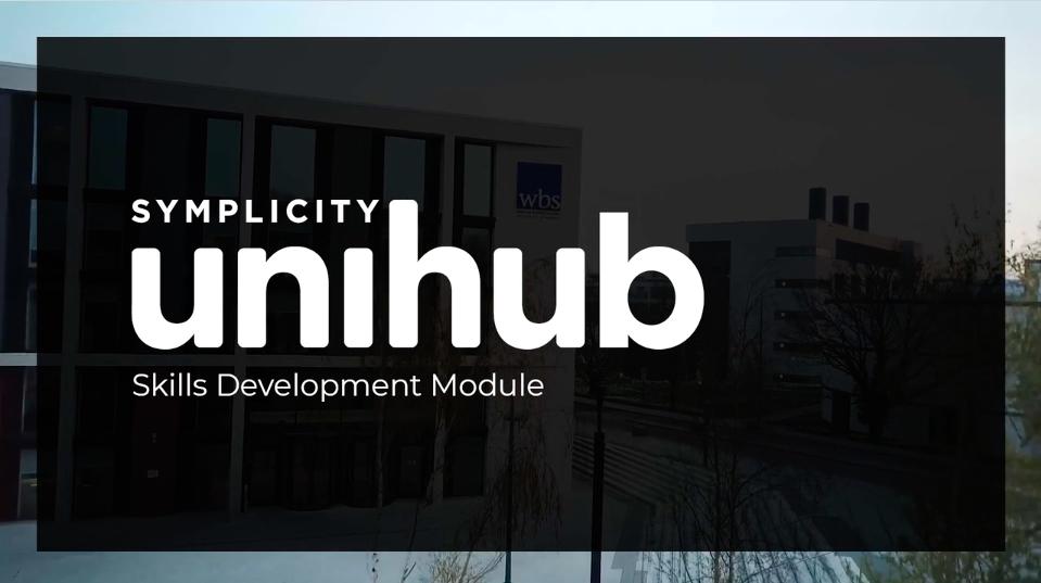 UniHub Skills Development Module